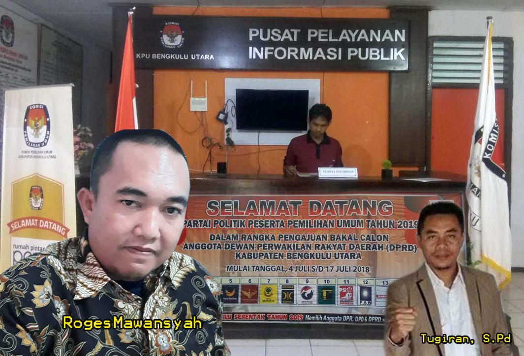 Pendaftaran calon DPRD