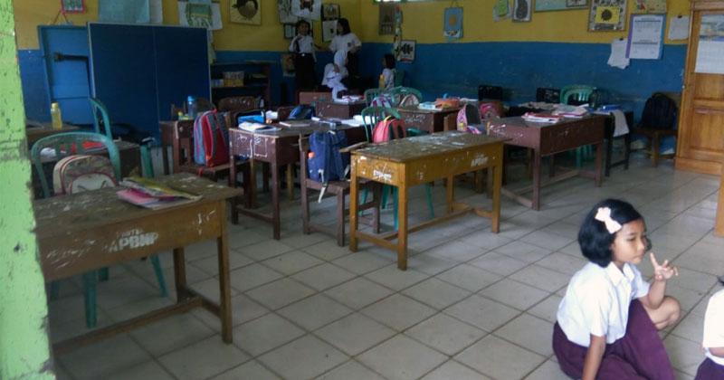 Tampak ruang kelas