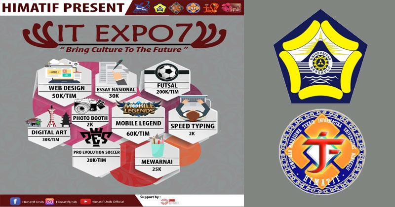 IT expo 7 Himatif Universitas Bengkulu