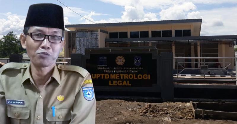 Dinas Perdagangan bengkulu Utara bangun gedung meterologi legal