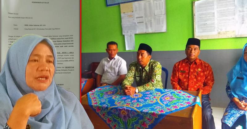 Oknum Ketua Panwascam Arga Makmur lecehkan MTSN Arga Makmur bengkulu utara