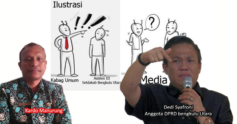 Anggota DPRD bengkulu Utara kecam aksi intimidasi Kabag Umum Setdakab bengkulu Utara kepada wartawan