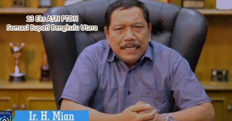 PTDH ASN Bengkulu Utara, Mi'an di somasi