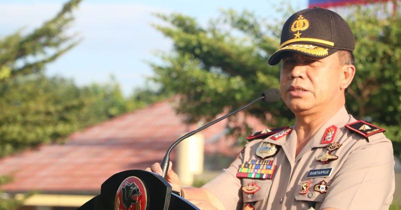 Kunjungan Kapolda Bengkulu berikan arahan PPTK di Bengkulu Utara
