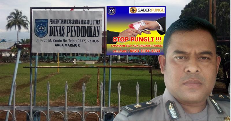 Dugaan Pungli Dispendik Bengkulu Utara Dilirik Satgas Saber Pungli