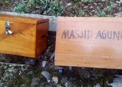Lagi Kotak Amal Diduga Hasil Curian, Ditemukan Dibelakang Pemkab Bengkulu Utara