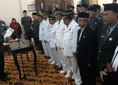 Mutasi dan Pelantikan JPT, Plt Kadiskominfo Jabat Kepala Bapenda Bengkulu Utara