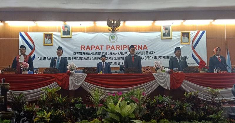 Paripurna DPRD Bengkulu Tengah