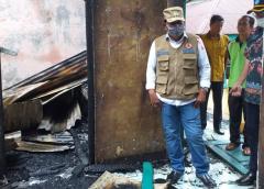 Bupati Bengkulu Utara, Instruksi Dispendik Bangun SMPN 1 Pasca Terbakar