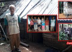Potret Buram Kemiskinan Di Bengkulu Utara, Suami Istri Dan 4 Orang Anak Tinggal Di Gubuk Reot