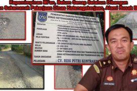 Kasi intel Kejari BU Denny Agustian, SH, MH