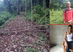 Kades Batu Raja R Bangun Jalan JUT, Terindikasi Rugikan Dana Desa