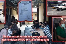 Ambulance Rumah Sakit M Yunus Bengkulu