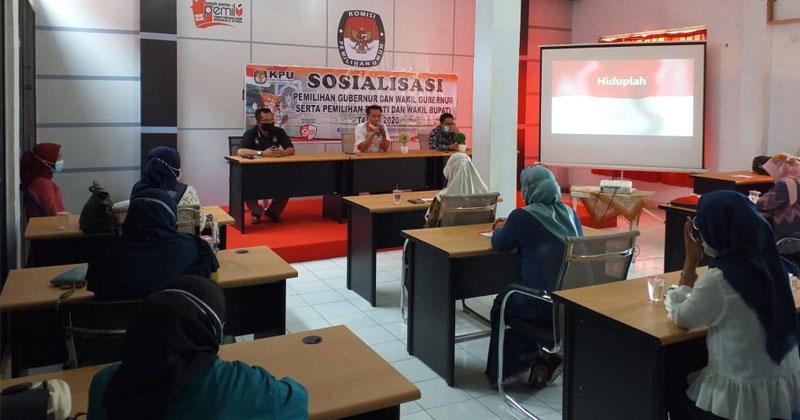 Pilkada Bengkulu Utara pemilih perempuan
