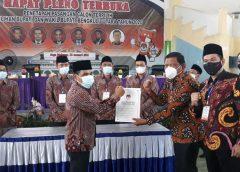 Sah, KPU Bengkulu Utara Tetapkan Paslon Mi'an Arie Menjadi Bupati Dan Wakil Bupati Terpilih