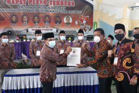 Paslon Mi'an Arie ditetapkan menjadi pemenang Pilkada Bengkulu Utara
