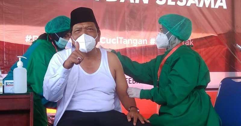 vaksin tahap II Bengkulu Utara