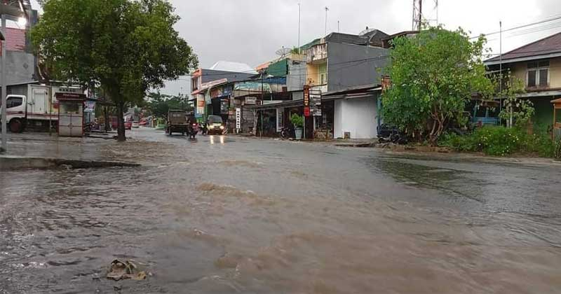 Tambal Sulam Dinas PUPR Bengkulu Utara