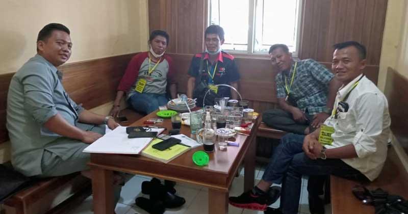 Kasat-Reskrim-bersama-pengurus-SMSI-Bengkulu-Utara