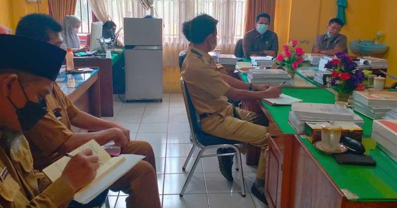 Komisi-1-DPRD-BU-hearing-bersama-pihak-Dispendik-Bengkulu-Utara
