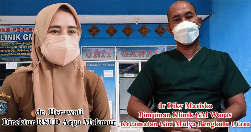 Pimpinan-Klinik-GM-Waras-Giri-Mulya-yang-nekat-Merawat-pasien-covid-19-Diduga-Kambinghitamkan-RSUD-Arga-Makmur
