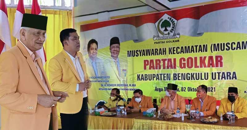 Konsolisadi-Muscam-Pengurus-Partai-Golkar-Bengkulu-Utara